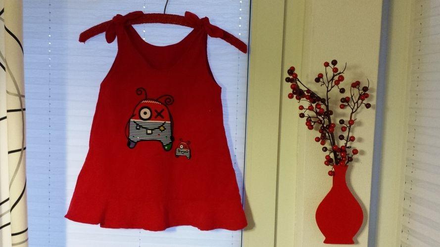 Makerist - Farbenmix Oona Kleidchen für meine  1 1/2 jährige Tochter - Nähprojekte - 1
