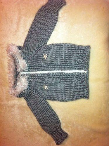 Makerist - Die Jacke, die mitwächst - Strickprojekte - 1