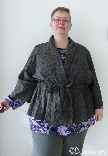 Makerist - Kimono: Bluse und Morgenmantel - Nähprojekte - 1