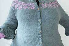 Makerist - Fair Isle Strickjacke - 1