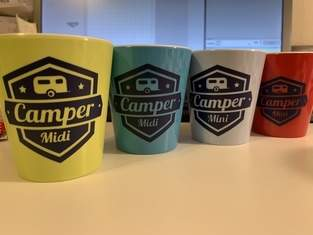 Makerist - Plotterdatei Camping auf Campingtaschen  - 1