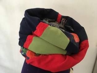 Makerist - Patchwork Schals aus Resten  - 1