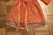 Makerist - Festliches Kleid in orange-creme - 1