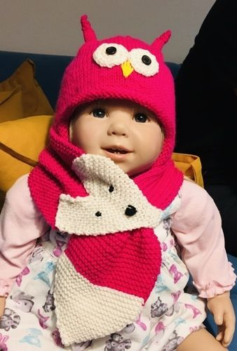 Makerist - Garnitur Mütze und Schal für Kleinkind - Strickprojekte - 1
