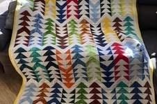 Makerist - Flying-Geese Tagesdecke für mein Sofa  - 1