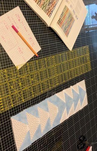 Makerist - Flying-Geese Tagesdecke für mein Sofa  - Patchwork-Projekte - 3