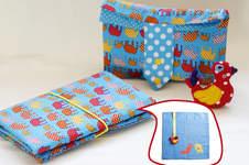 Makerist - Windeltasche mit Extra Wickelauflage - 1