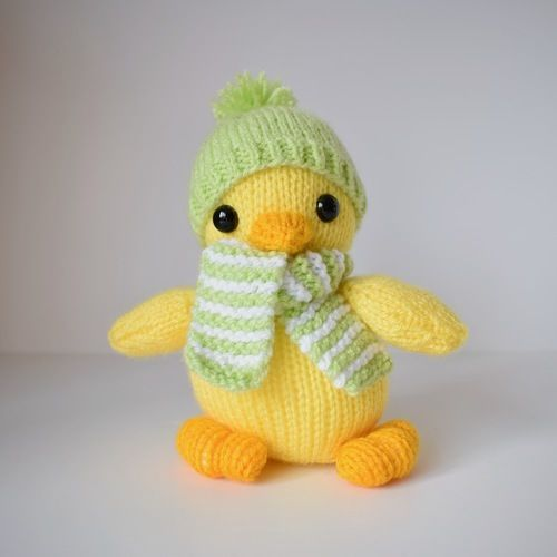 Makerist - Cuddly Chick - Knitting Showcase - 1