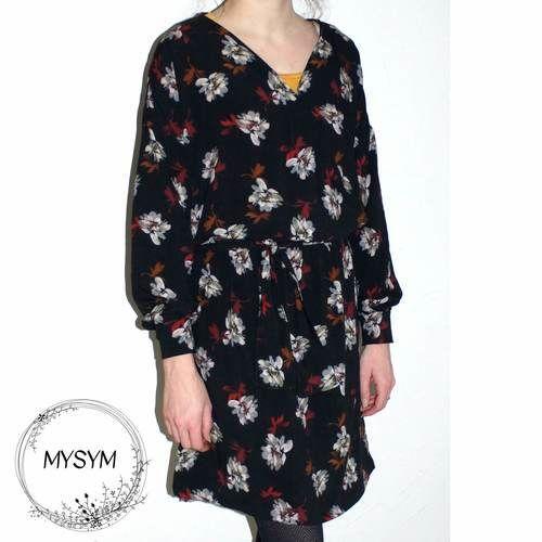 Makerist - Ma robe esmée à manches longues - Créations de couture - 1