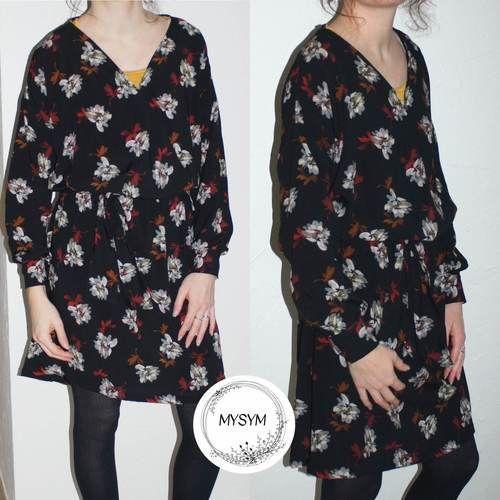 Makerist - Ma robe esmée à manches longues - Créations de couture - 2