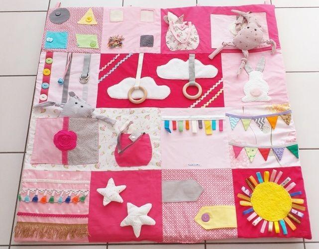 Makerist - Tapis d'éveil «pink ladies» - Créations de couture - 1