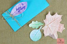 Makerist - Geschenkanhänger und Geschenkpapier mit Blätterdruck gestalten - 1