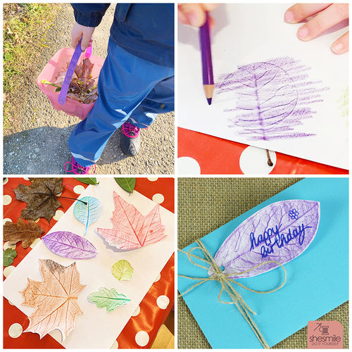 Makerist - Geschenkanhänger und Geschenkpapier mit Blätterdruck gestalten - DIY-Projekte - 3