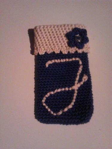 Makerist - Handytäschchen mit Initiale  - Häkelprojekte - 1