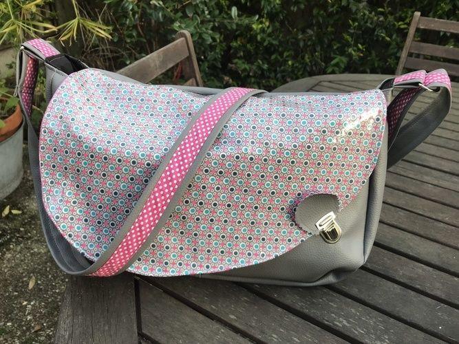 Makerist - mes sacs besaces - Créations de couture - 3