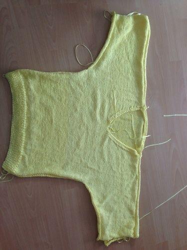 Makerist - Pulli aus Bändchengarn - Strickprojekte - 1