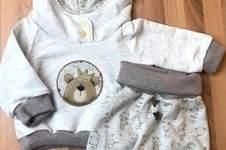 Makerist - Babyhoodie und Hose - 1