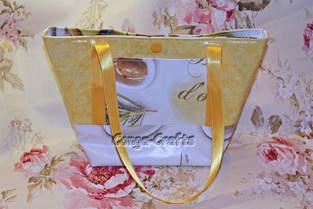 Makerist - Mini-Strandtasche aus Wachstuch - 1