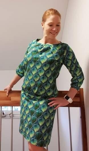 Makerist - Sommerkleid Valeria, Schnitt Mirastern, jetsey Albstoffe - 1