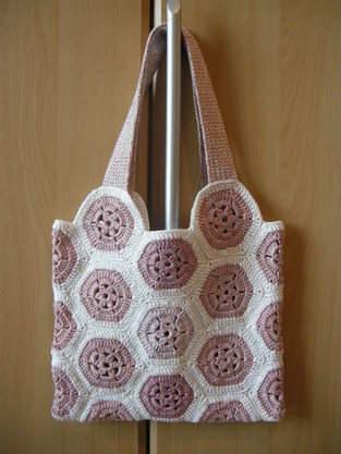Makerist - Granny-Tasche aus Garnresten - 1