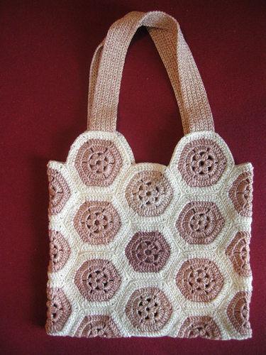 Makerist - Granny-Tasche aus Garnresten - Häkelprojekte - 2