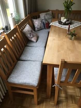 Neue Stuhlbezüge