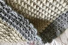 Makerist -  Crystal Mountain Throw  - 1