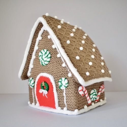 Makerist - Gingerbread House - Knitting Showcase - 1