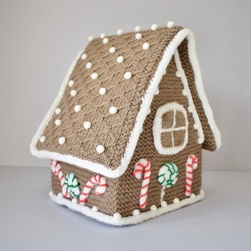 Makerist - Gingerbread House - Knitting Showcase - 2