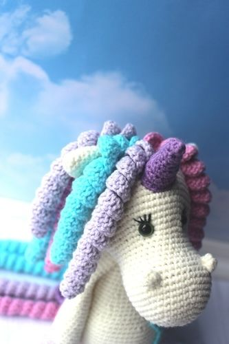 Makerist - Crochet Unicorn toy pattern - Crochet Showcase - 2