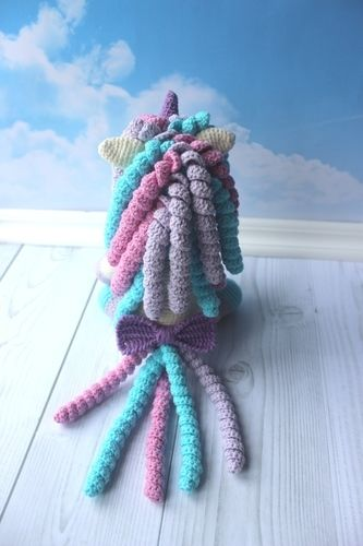 Makerist - Crochet Unicorn toy pattern - Crochet Showcase - 3