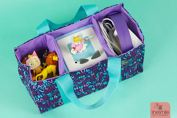 Makerist - Eine TanteTrage TragBox für meine große Tochter - Nähprojekte - 3