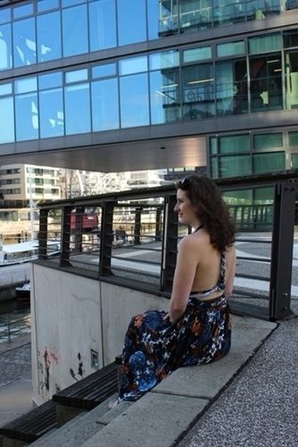 Makerist - Infinity-Kleid aus Viskosejersey - Nähprojekte - 1