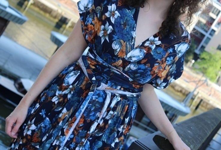 Makerist - Infinity-Kleid aus Viskosejersey - Nähprojekte - 2