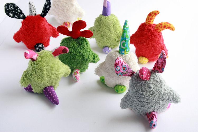 Makerist - kleine Monster Gnüphies :-) - Nähprojekte - 3