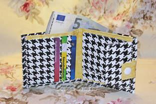 Makerist - Geldbeutel aus Wachstuch - 1