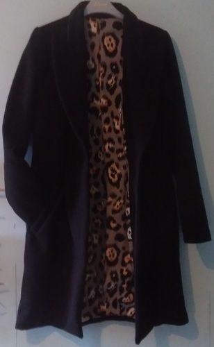 Makerist - Mon manteau MEGAN. Le manteau est en laine doublé de coton élasthanne. Je l'ai fait pour ma fille. - Créations de couture - 2