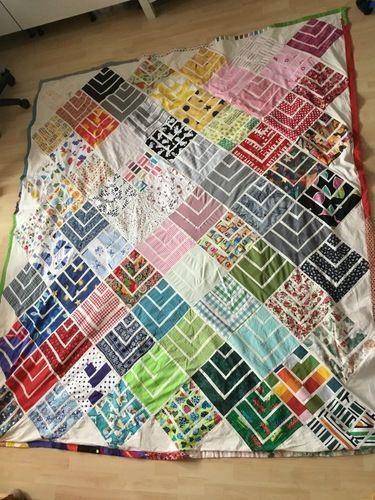 Makerist - Tagesdecke für erwachsenes Kind - Patchwork-Projekte - 1