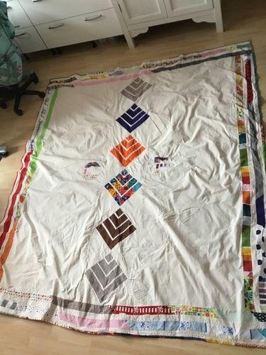 Makerist - Tagesdecke für erwachsenes Kind - Patchwork-Projekte - 2