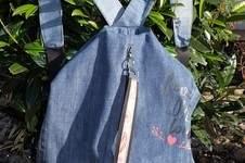 Makerist - Ein wunderbarer Rucksack/Beutel aus einer alten Jeans - 1