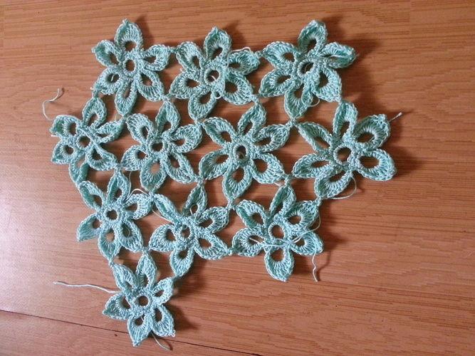 Makerist - Viele, viele Blüten - Häkelprojekte - 1