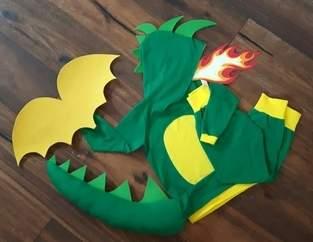 Makerist - Tabaluga Kostüm - 1