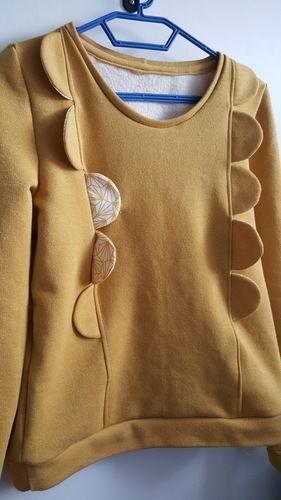 Makerist - Sweat Yzée de l'Usine à Bulle  - Créations de couture - 2