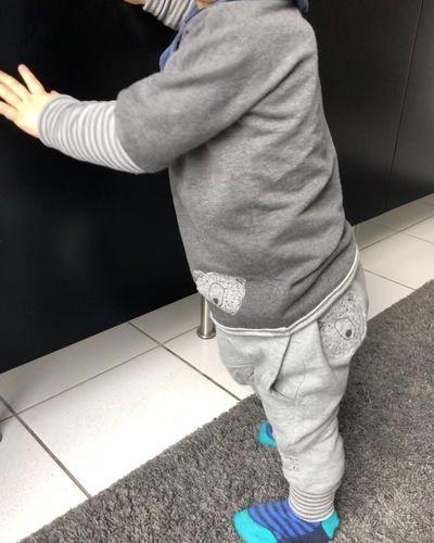 Makerist - Kid5 Baggy Pants Gr.86 Upcycling - Nähprojekte - 2