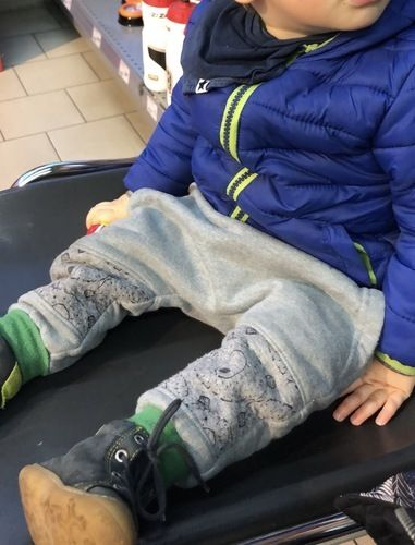 Makerist - Kid5 Baggy Pants Gr.86 Upcycling - Nähprojekte - 3