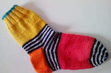 Makerist - Papagei-Socken - 1