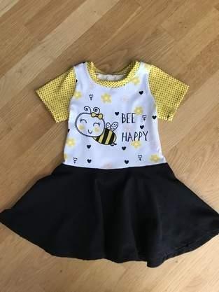 Makerist - Bienchen Kleid zum 1. Geburtstag vom Patenkind 😍 - 1