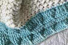Makerist - Mountain Top Baby Blanket  - 1