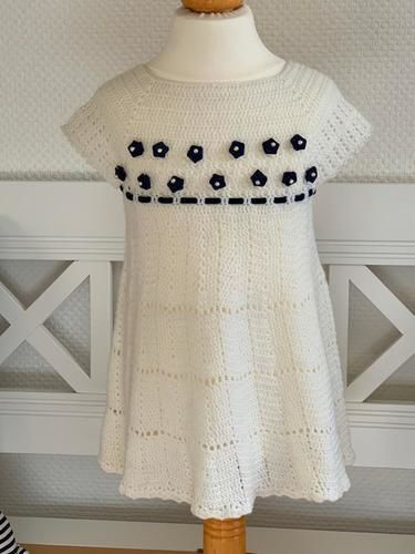 Makerist - Sommerkleidchen 2-3 Jahre - Häkelprojekte - 1