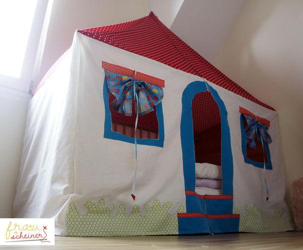 Makerist - Spielhaus und Betthimmel - Nähprojekte - 1